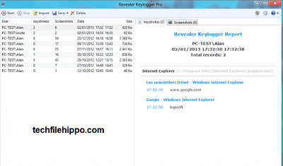 best free keylogger revealer 2 - TechFileHippo