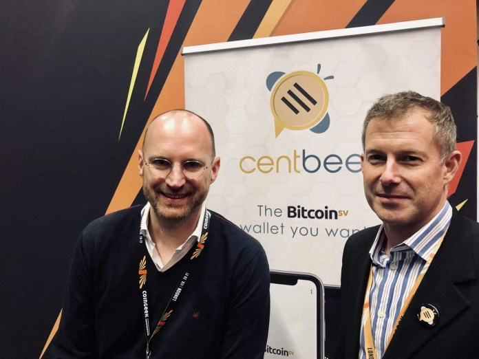 Jan Smit, co-founder of Two Hop Ventures and Angus Brown, co-founder of Centbee