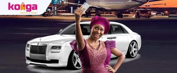 Konga Travel Rolls Royce promo goes live