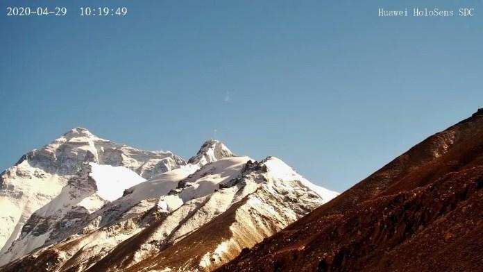 Live screenshot from the Huawei 5G camera
