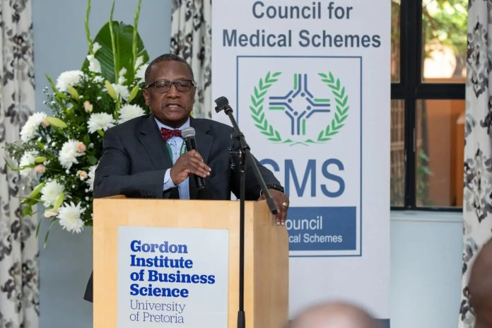 Chairperson of the Council for Medical Schemes Clarence Mini