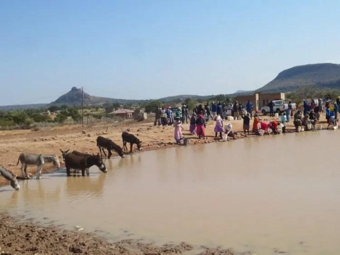 Residents of Ga-Kobe village in Limpopo