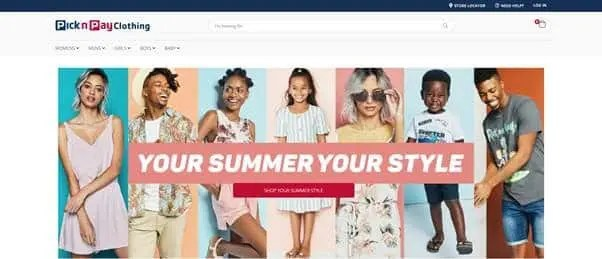 Pick n Pay Clothing Launches an Online Shop | TechFinancials