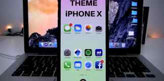 Theme Iphone X without Jailbreak