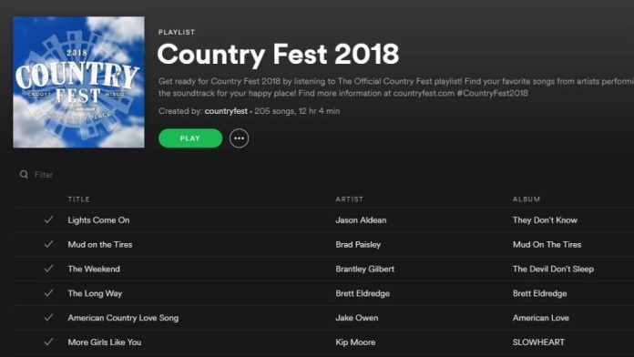 Spotify Free accounts 2018