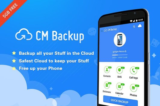 Backup apps for Android