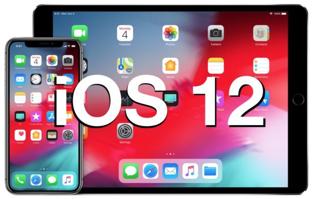 Download and Install iOS 12 update Now [IPSW Links]: