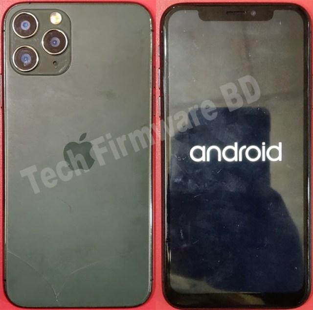 Iphone 11 pro Clone Flash File