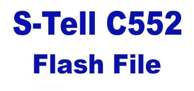 S-Tell C552 Flash File