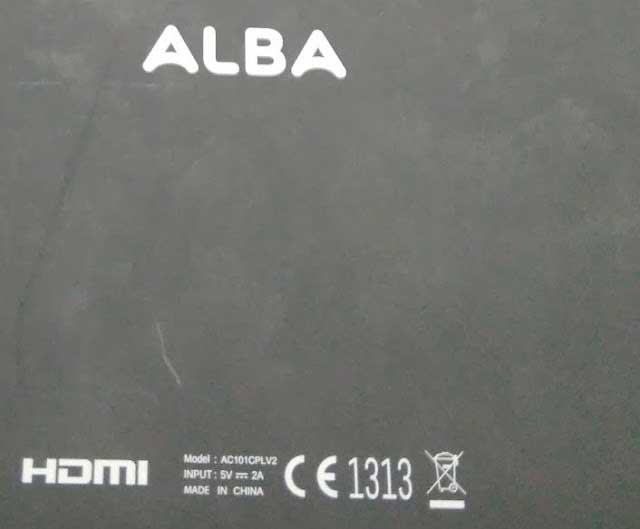 Archos Alba 10 Flash File
