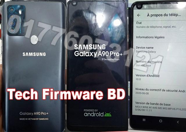 Samsung Clone A90 Pro Plus Flash File