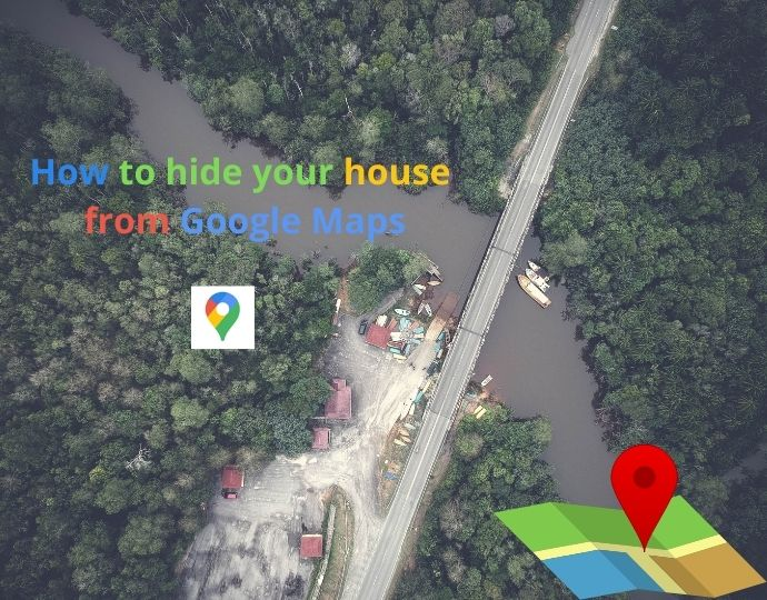 How to blur your home from Google Maps