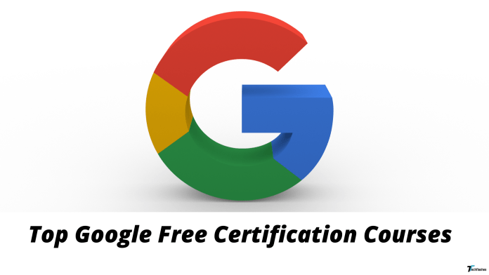 Top Google Free Certification Courses