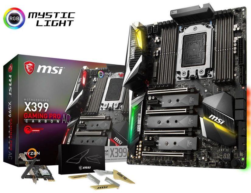 MSI X399 Gaming Pro Carbon