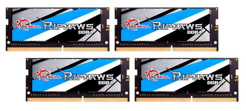 G.Skill 64GB (4x16GB) SO-DIMM Kit DDR4-3466 CL17