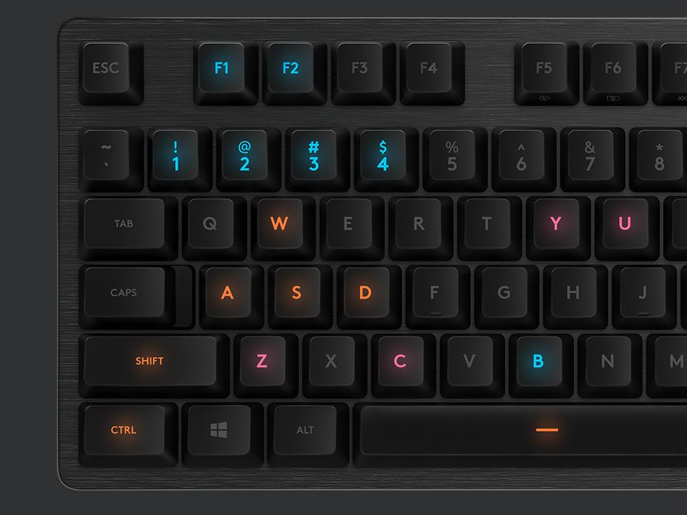 Logitech G512 Mechanical Gaming Keyboard