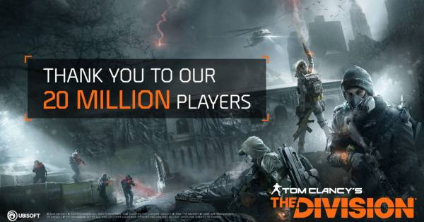 Tom Clancy's The Division break 20 million players