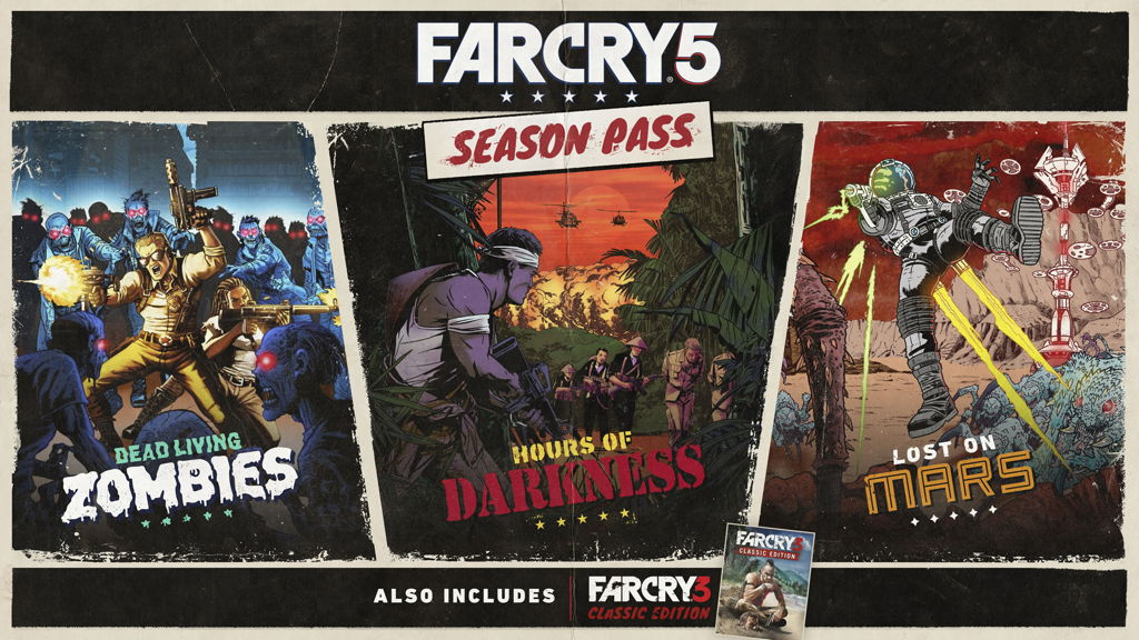 Far Cry 5 Season Pass series