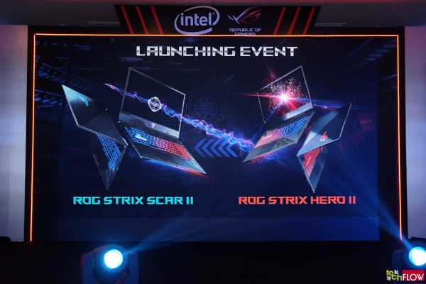 ASUS ROG Strix Scar II launching