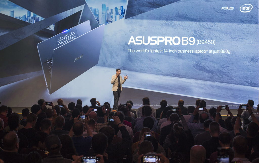 ASUS Introduces ASUSPRO B9, The World's Lightest 14 inch Business Laptop at Just 880 grams