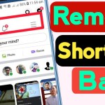 How To Remove Shortcut Bar From Facebook