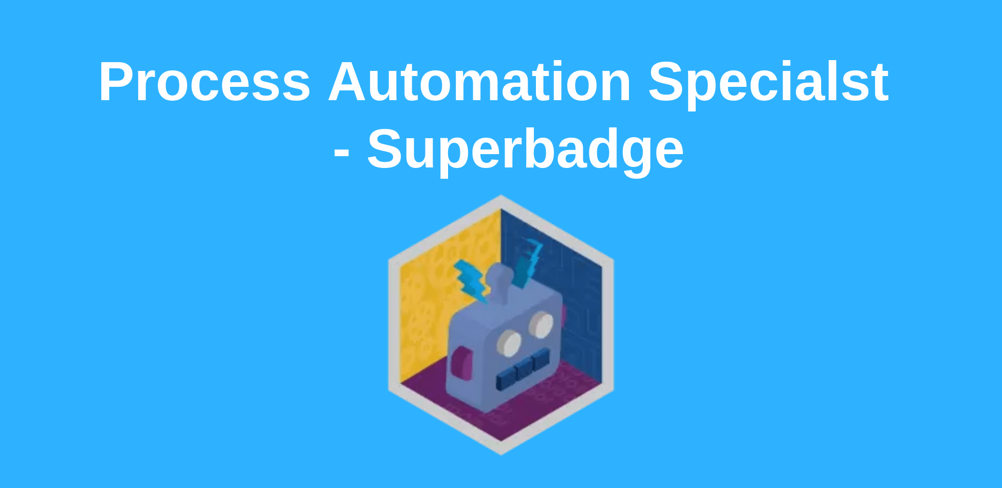 Process Automation Specialist - Superbadge - Techforce Services