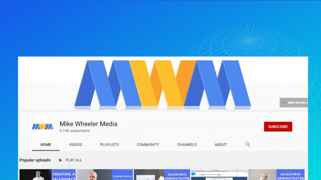 Mike wheeler media channel
