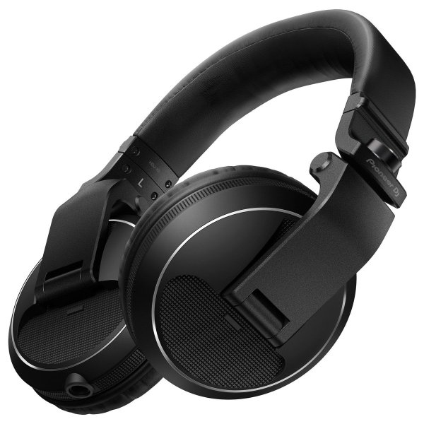 eer HDJ-X5 Professional DJ Headphones, Black