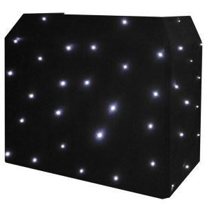 Equinox DJ Booth LED Starcloth System, CW