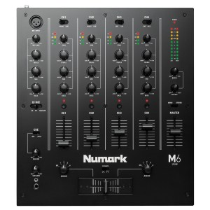 Numark M6 Four-Channel USB DJ Mixer