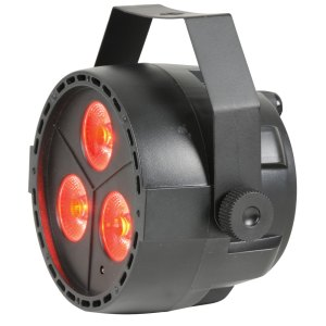QTX PAR12 RGBW DMX PAR Light 3 x 4W LED