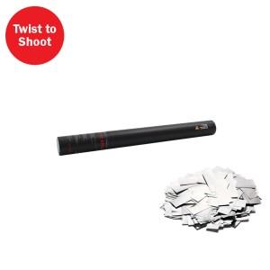 Handheld Confetti Cannon 50cm Silver