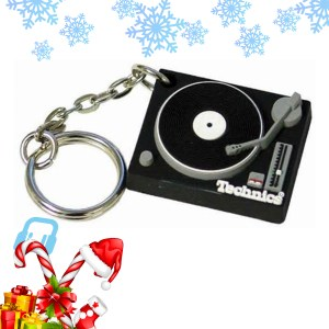 DMC Technics Black Deck Keyring