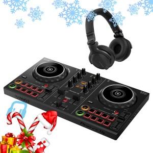 Pioneer DDJ-200 Smart DJ Controller with HDJ-CUE1 Headphones