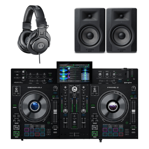 Denon DJ Prime 2 2-Deck Smart DJ Console Package