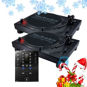 Technics SL-1210MK7 and Pioneer DJM-S3 Package