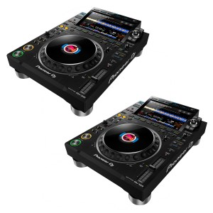 Pioneer CDJ-3000 Professional DJ Multi Player DJ Package