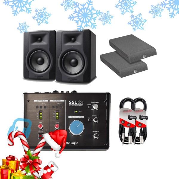 SSL 2+ USB Audio Interface Music Producer Bundle