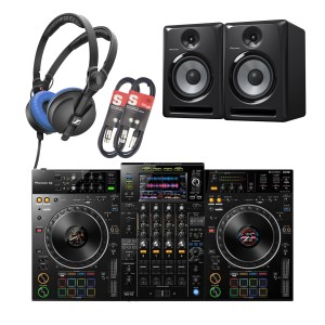 Pioneer XDJ-XZ Professional All-In-One DJ System & Pioneer S-DJ80X Package