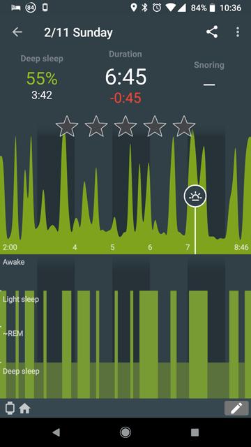 Sleep Tracking Android
