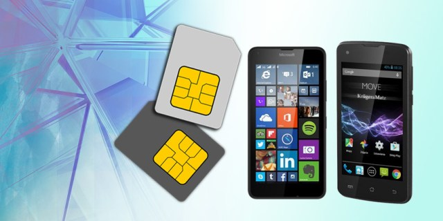 Telefon na dwie karty Sim