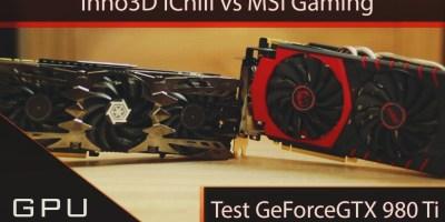 Inno3D iChill vs MSI Gaming