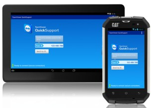 TeamViewer QuickSupport supporta il controllo remoto dei dispositivi Android