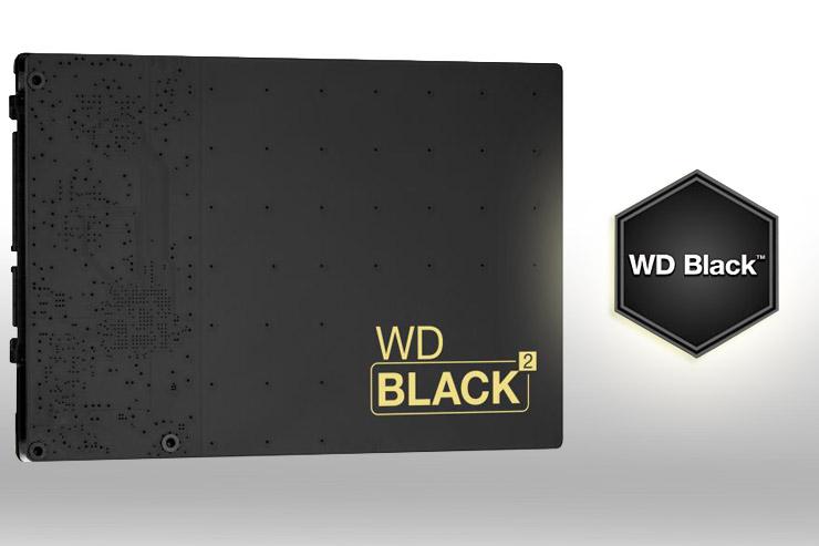 WD Black2, prestazioni e capacità, tutto in uno