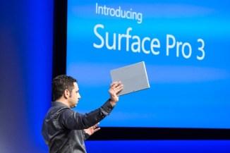 Microsoft Surface Pro 3, tablet professionali con Windows 8