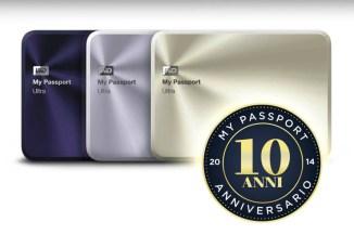 WD festeggia i dieci anni della gamma My Passport