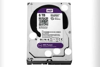 WD Purple, 6 TByte di spazio per la videosorveglianza