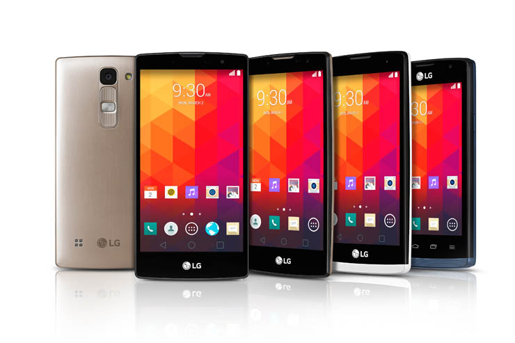 A MWC 2015 i nuovi smartphone LG Magna, Spirit, Leon e Joy