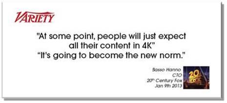 La tecnologia 4K, intervistiamo Enrico Ferrari di Sony Italia