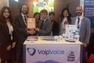 VoipVoice premiata come Best Exhibitor SMAU 2015